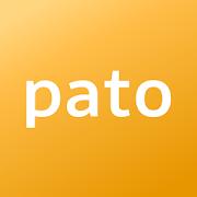 pato(パト)のロゴ