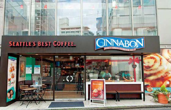 パパ活アプリ顔合わせで使えるCINNABON シアトルズベストコーヒー六本木店1