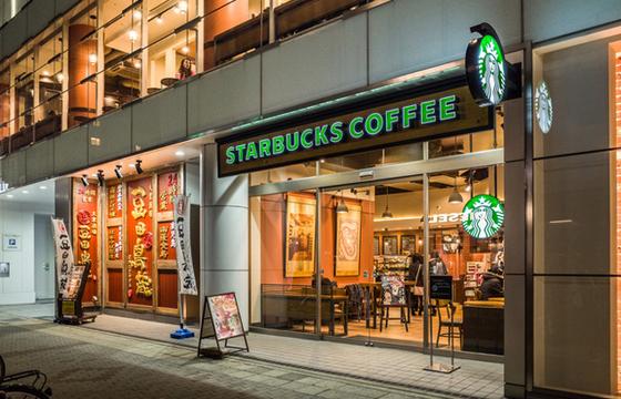 パパ活アプリで使えるスターバックスコーヒー 栄 チェリープラザ店1